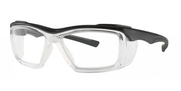 Black Crystal Wolverine W036 Safety Eyeglasses