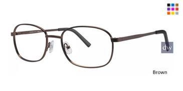 Brown Wolverine W041 Safety Eyeglasses