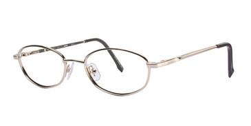Gold Wolverine WT12 Safety Eyeglasses - Teenager