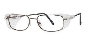 Gunmetal Wolverine W022 Safety Eyeglasses