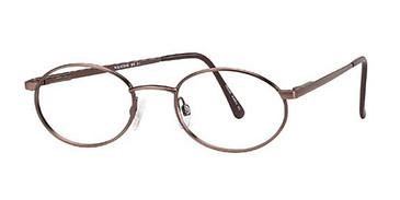 Brown Wolverine WS01 Safety Eyeglasses - Teenager