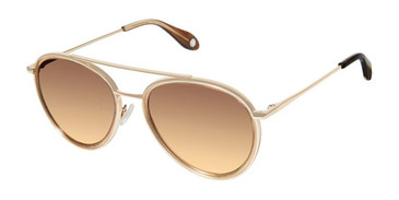 Brown Gold Fysh 2045 Sunglasses.