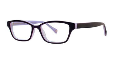 Purple/Pink Vivid Ecru Crosby Eyeglasses - Teenager