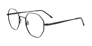 Satin Black Cargo C5054 Eyeglasses.