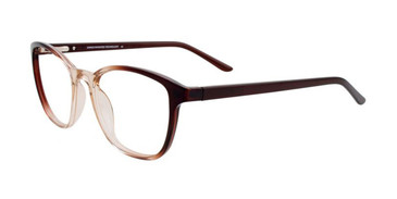 Dark Brown & Light Brown Crystal Cargo C5049 Eyeglasses.