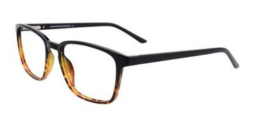 Demi Ambre & Black Cargo C5052 Eyeglasses.