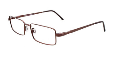 Satin Dark Brown Cargo C5041 Eyeglasses.