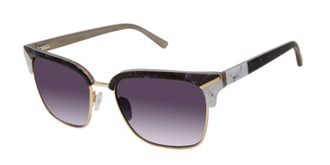Black/Bone L.A.M.B BAXTER - LA567 Sunglasses