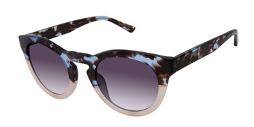 Blue/Blush L.A.M.B JANSEN - LA562 Sunglasses.