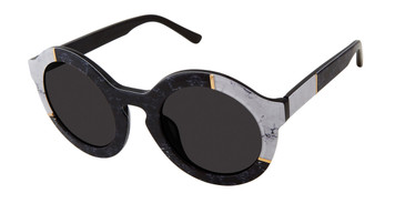 Black/White L.A.M.B BAKER - LA561 Sunglasses.