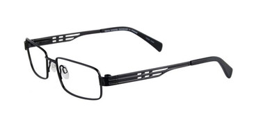 Satin Black Pentax P9991 Eyeglasses