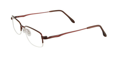 Satin Burgundy Cargo C5027 Eyeglasses.