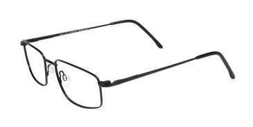 Matte Black Cool Clip CC619 Eyeglasses.