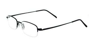 Matte Black Cool Clip CC621 Eyeglasses Teenager.