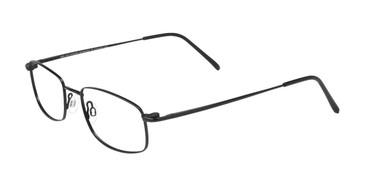 Matte Black Cool Clip CC622 Eyeglasses.