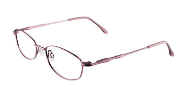 Shiny Light Pink Cool Clip CC820 Eyeglasses.