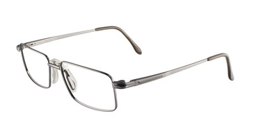 Satin Gun Powder Grey Cool Clip CC822 Eyeglasses.