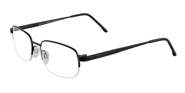 Matte Black Cool Clip CC830 Eyeglasses.