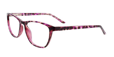 Purple Tortoise Cool Clip CC840 Eyeglasses.