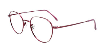 Shiny Pinkish Red Cool Clip CC844 Eyeglasses.