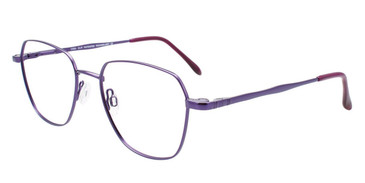 Satin Purple Cool Clip CC845 Eyeglasses.