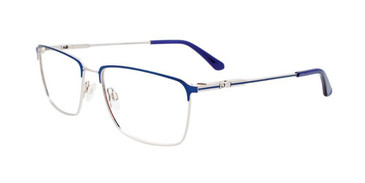 Satin Blue & Silver Clip & Twist CT269 Eyeglasses.