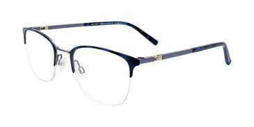 Matt Demi Blue & Steel Blue Clip & Twist CT268 Eyeglasses.