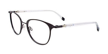 Matt Black Clip & Twist CT266 Eyeglasses.