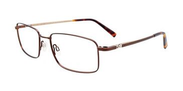 Matt Dark Brown Clip & Twist CT265 Eyeglasses.