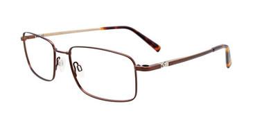Matt Dark Brown Clip & Twist CT265 Eyeglasses.