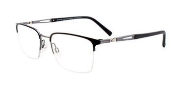Matt Black & Matt Grey Clip & Twist CT263 Eyeglasses.