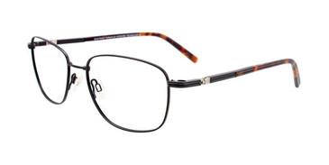 Satin Black Clip & Twist CT261 Eyeglasses.
