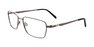 Satin Dark Grey Clip & Twist CT257 Eyeglasses.