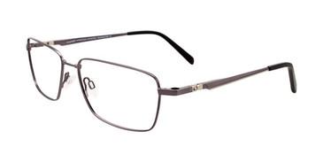 Satin Dark Grey Clip & Twist CT257 Eyeglasses.