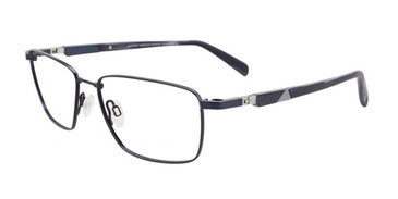Satin Dark Blue Clip & Twist CT258 Eyeglasses.