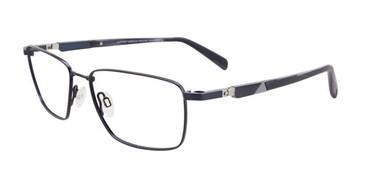 Satin Dark Blue Clip & Twist CT258 Eyeglasses.
