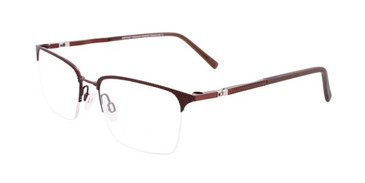 Satin Dark Brown Clip & Twist CT259 Eyeglasses.