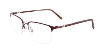 Satin Dark Brown Clip & Twist CT259 Eyeglasses.