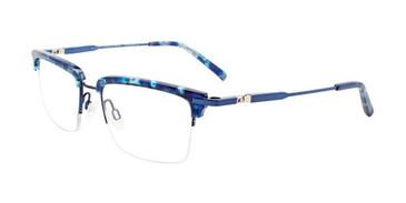 Demi Blue & Dark Blue Clip & Twist CT260 Eyeglasses.