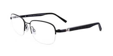 Satin Black Clip & Twist CT254 Eyeglasses.