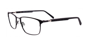 Satin Black Clip & Twist CT256 Eyeglasses.
