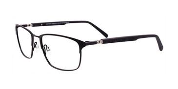 Satin Black Clip & Twist CT256 Eyeglasses.