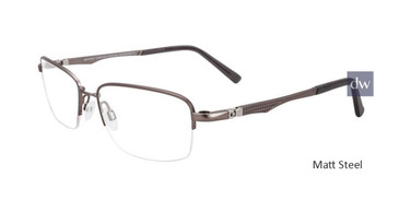 Matt Steel Clip & Twist CT245 Eyeglasses.