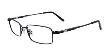 Satin Black Clip & Twist CT248 Eyeglasses.
