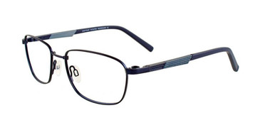 Satin Navy Clip & Twist CT250 Eyeglasses.
