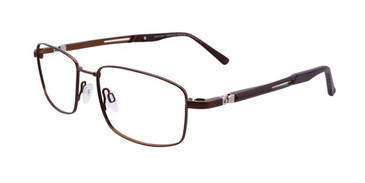Matt Bronze Clip & Twist CT238 Eyeglasses.