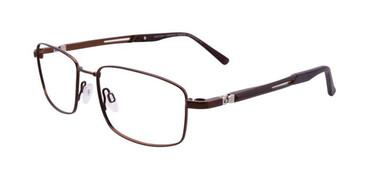 Matt Bronze Clip & Twist CT238 Eyeglasses.