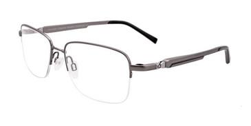 Matt Grey Clip & Twist CT239 Eyeglasses.
