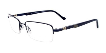Matt Navy Clip & Twist CT235 Eyeglasses.