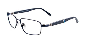 Satin Dark Blue Clip & Twist CT225 Eyeglasses.